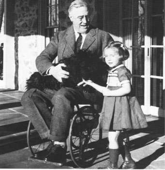 Free Photo of President Franklin Roosevelt In His Wheelchair, 19