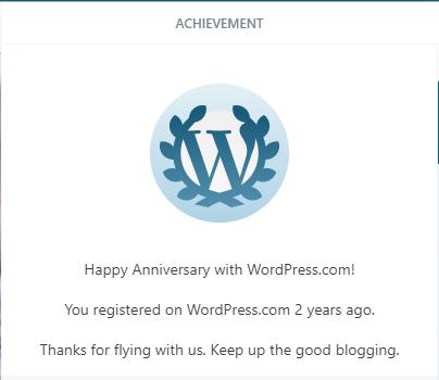2 Years Blogging