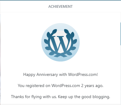 2 Years Blogging